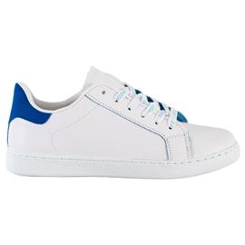 SHELOVET Fashionable Sports Shoes white blue