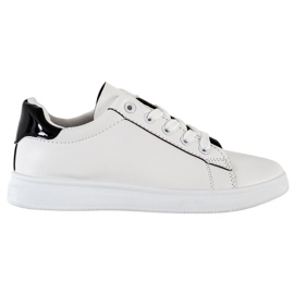 SHELOVET Classic Sport Shoes white black