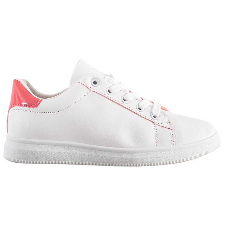 SHELOVET Classic Sport Shoes white pink