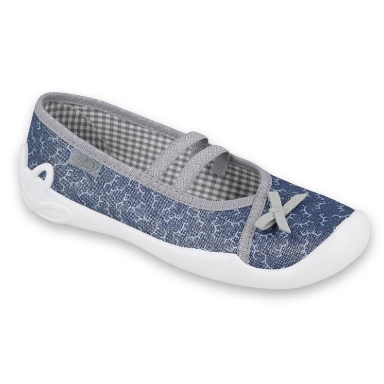 Befado children's shoes 116Y275 navy grey