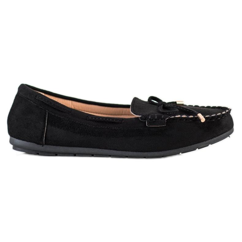 Super Me Suede loafers black