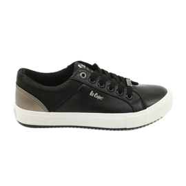 Lee Cooper W LCJL-20-31-041 sneakers black golden