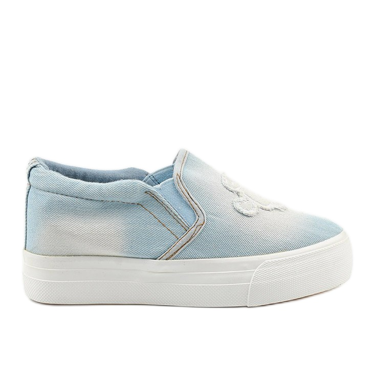 Cherilena wedge sneakers blue sneakers