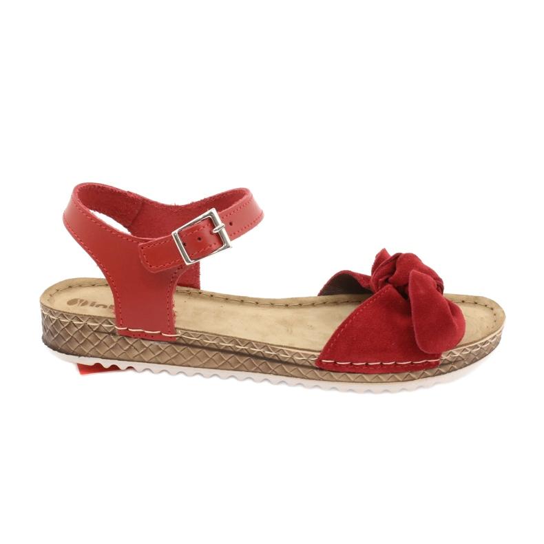 Comfort Inblu women's shoes 158D117 red