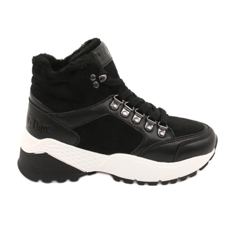 Sports comfortable boots Lee Cooper LCJL-20-31-152 black