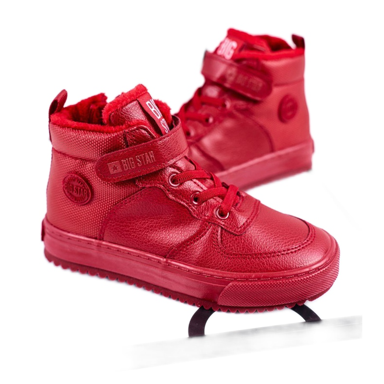 Children's Shoes Sneakers Big Star Warm Red GG374042