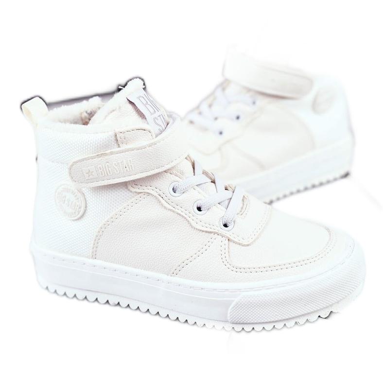 Children's Boots Big Star Warm White GG374041