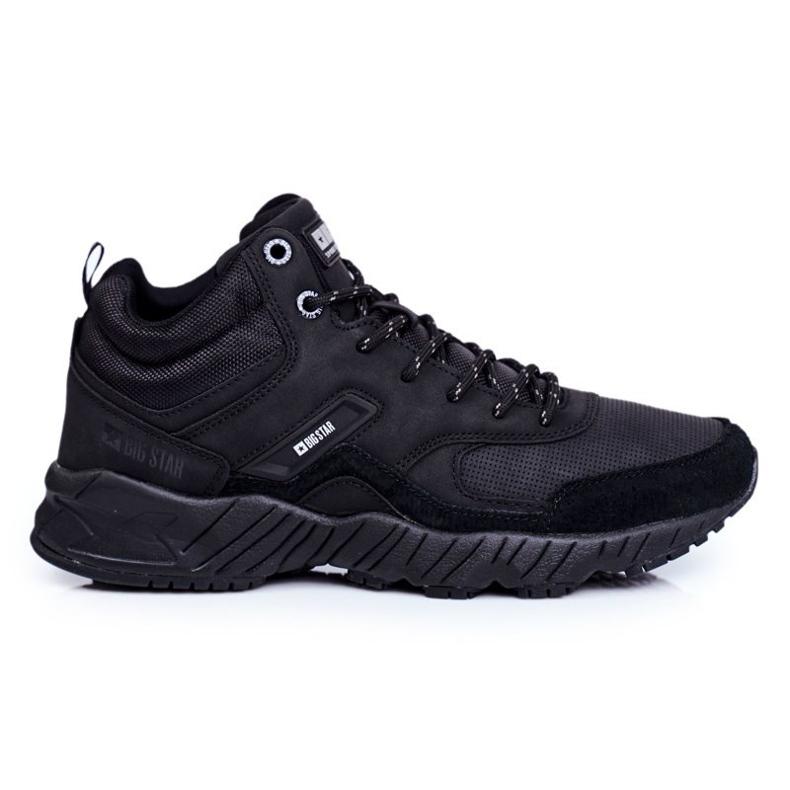 Men's Trekking Shoes Big Star Outdoor Black GG174409