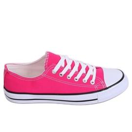 Classic women's pink sneakers JD05P Rosa