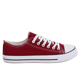 Classic women's burgundy XL03 Wine sneakers red multicolored