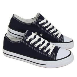 Women's classic navy blue sneakers XL03 D.BLUE