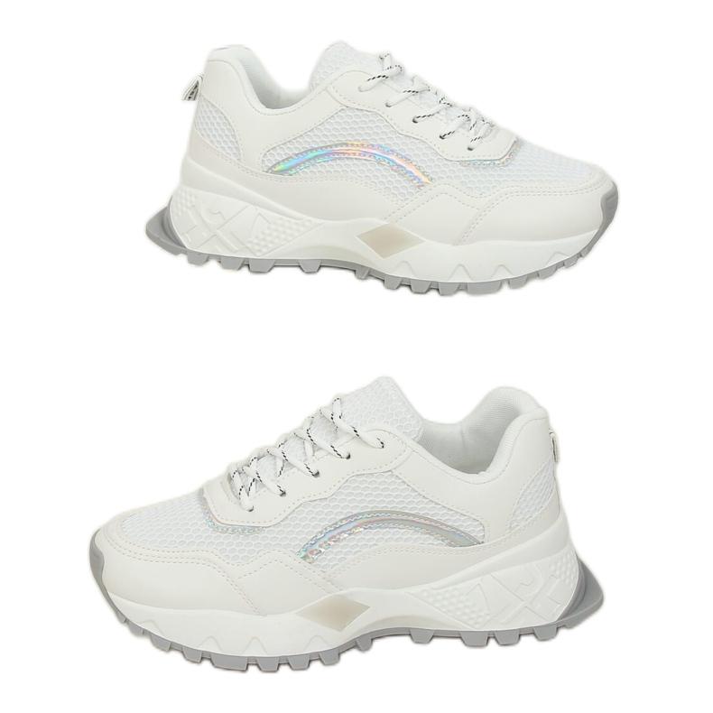 White LA87P White sports shoes