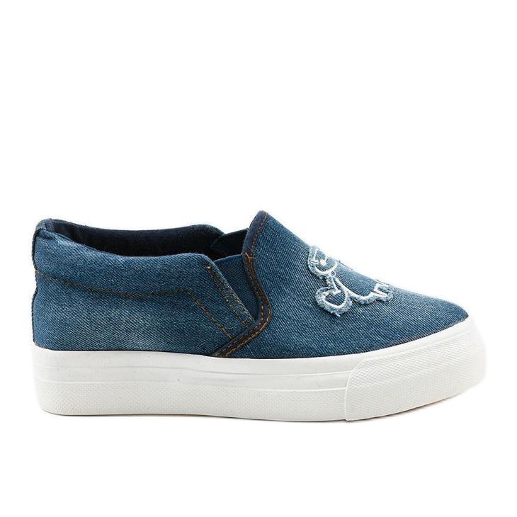Cherilena sneakers jeans navy blue blue