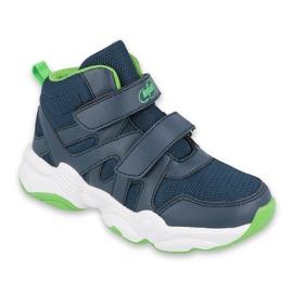 Befado children's shoes 516X049 blue green
