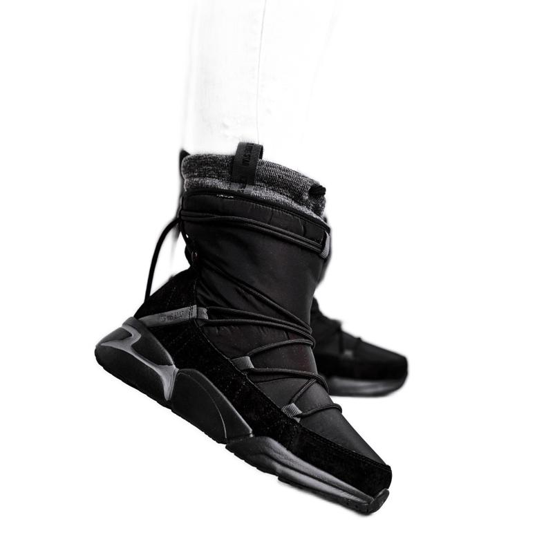 Women's snow boots Big Star Black GG274628