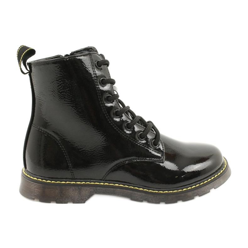 Black patent leather boots Evento 20DZ23-3216 Marita