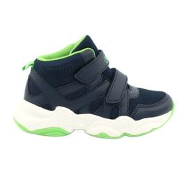 Befado children's shoes 516X049 navy blue green