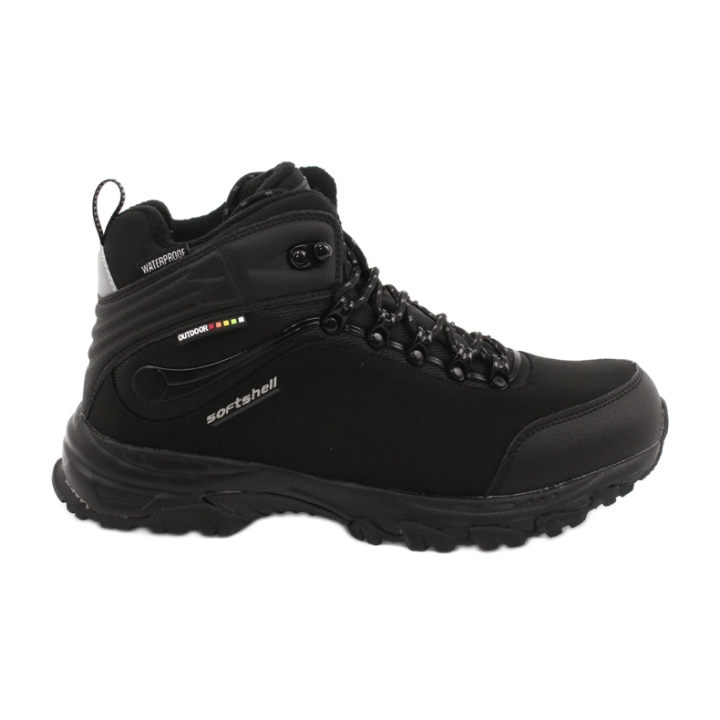 American Club American trekking Softshell boots with a membrane black