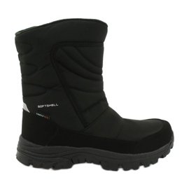 American Club Boots with a membrane insulated with fleece black