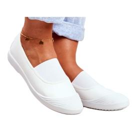 LU BOO Sneakers Slip On Slip-on Sneakers White Justy