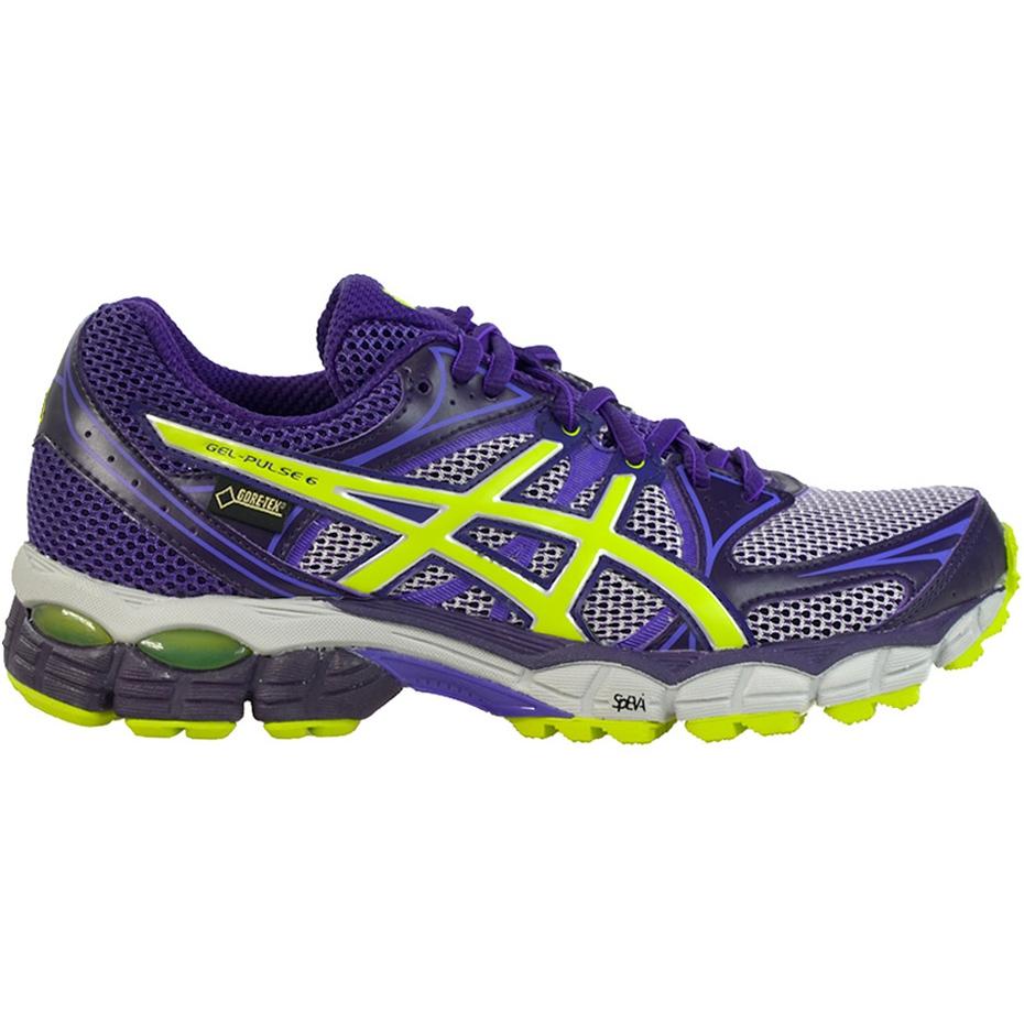 Asics Gel Pulse 6 Gtx T4A9N-3605 women's running shoes navy blue ...