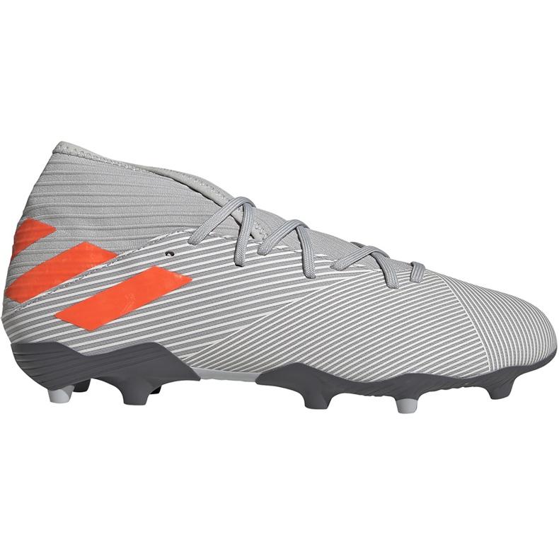 Adidas Nemeziz 19.3 Fg soccer shoes gray EF8287 grey grey