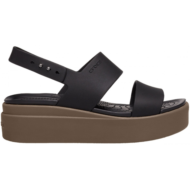Crocs women's sandals Brooklyn Low Wedge W brown 206453 07H black