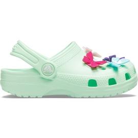 Crocs kids Classic Butterfly Charm Clg Ps green 206179 3TI