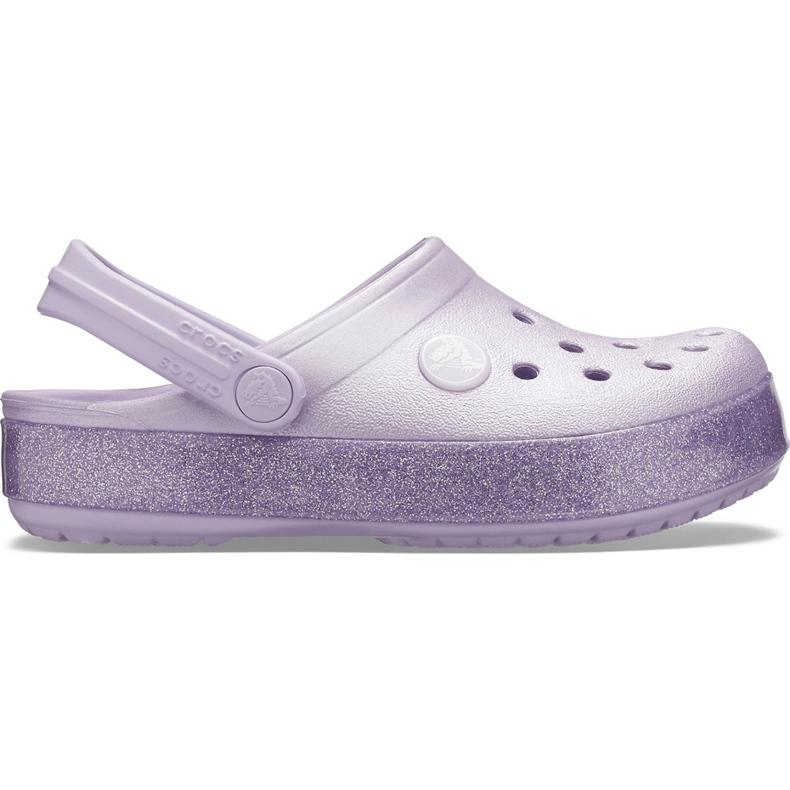 Crocs for kids Crocband Glitter Clog Kids purple 205 936 530 violet
