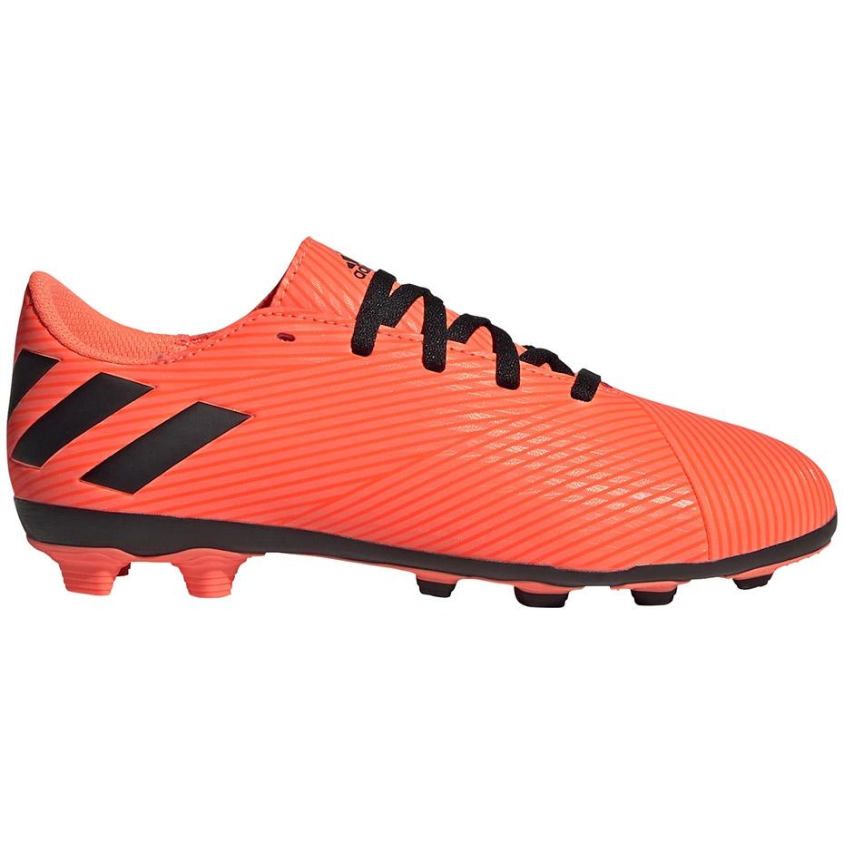 Adidas Nemeziz 19.4 FxG Jr orange EH0507 football shoes orange, black