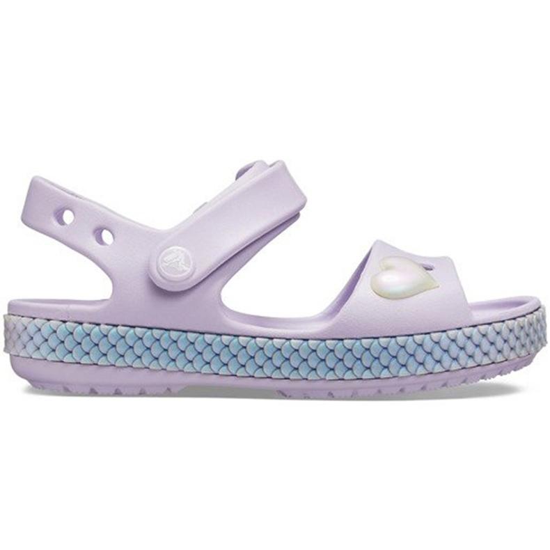 Crocs children's sandals Crocband Imagination Sandal Ps purple 206 145 530 violet