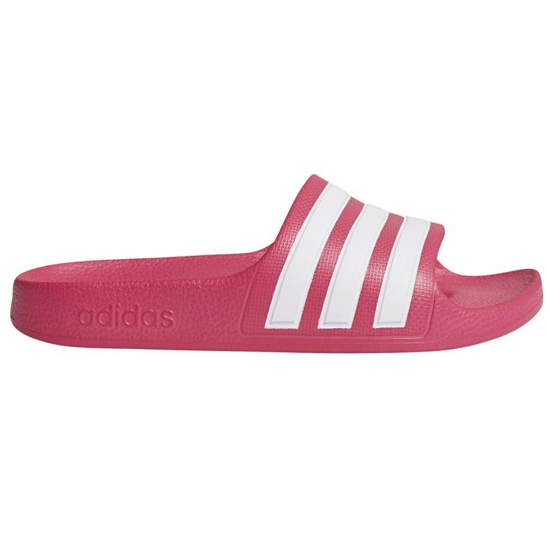 Adidas Adilette Aqua K pink slippers for children EF1749