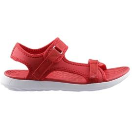 Women's sandals 4F red H4L20 SAD001 62S
