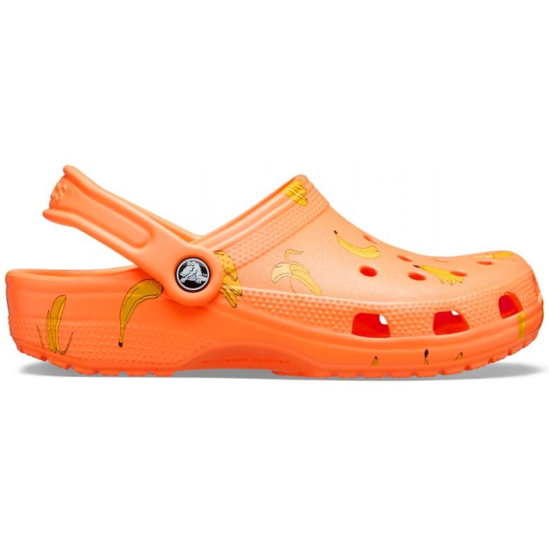 Crocs Kids Classic Vacay Vibes Clog Orange 206375 801