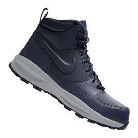 Nike Manoa Ltr Jr BQ5372-400 shoes black navy blue