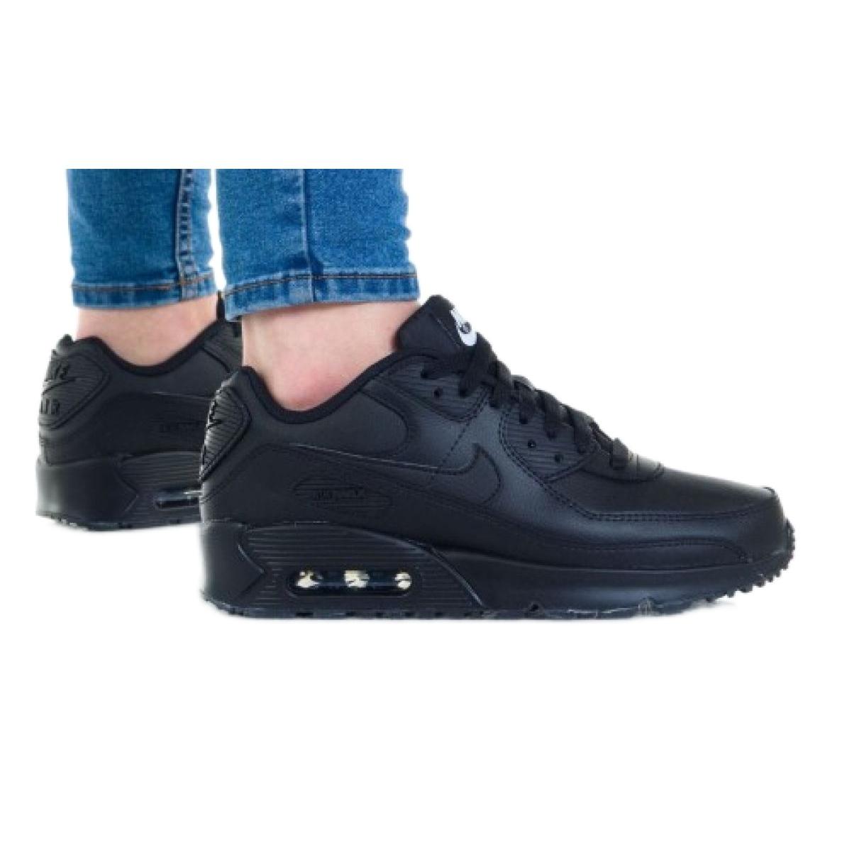 Nike Air Max 90 Ltr (GS) Jr CD6864-001 shoe white black