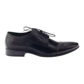 Leather shoes Men's shoes Pilpol 1262 black