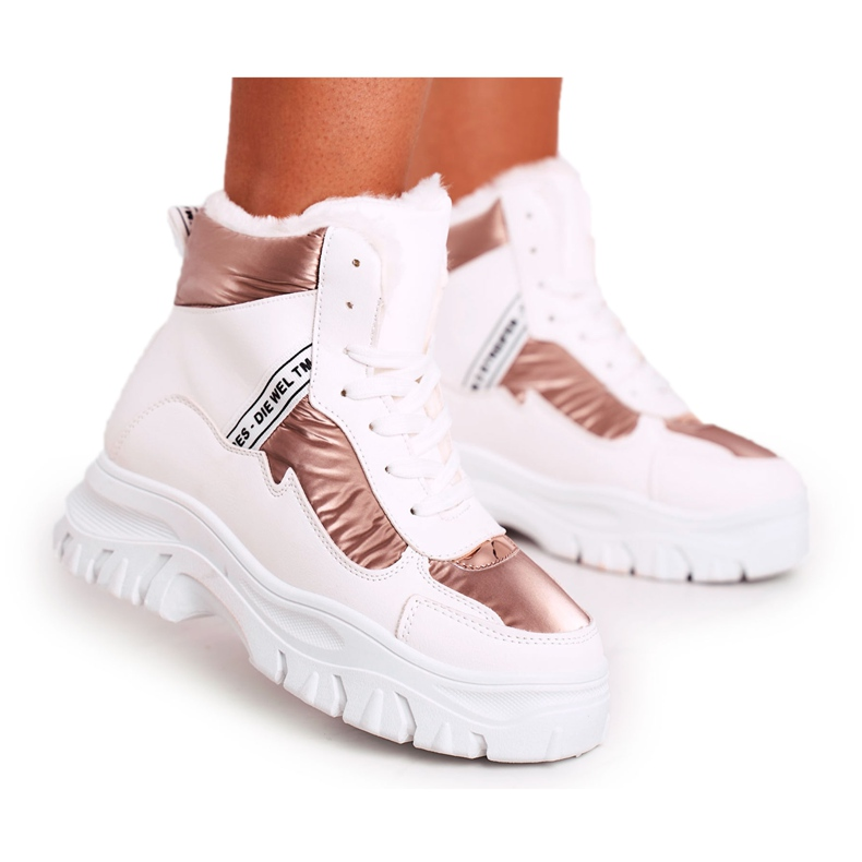 Marquiiz Women's Sport Snow Boots With Fur White Euphoria