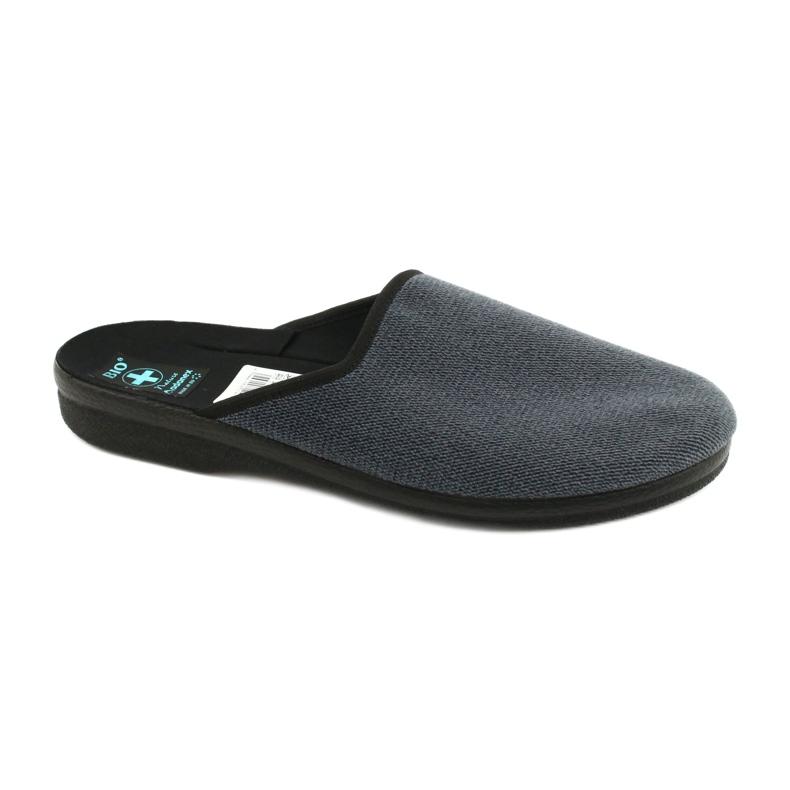 Men's Adanex 24141 slippers black blue