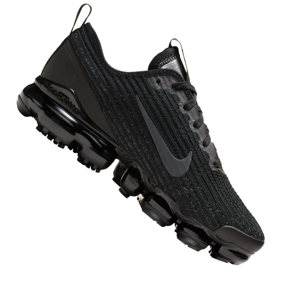 Nike Air Vapormax Flyknit 3 Jr BQ5238-001 shoes black grey