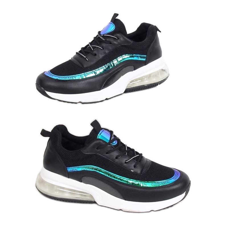 Black sports shoes for women LL1758 Black
