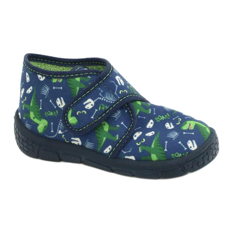 Befado children's shoes 538P037 blue green