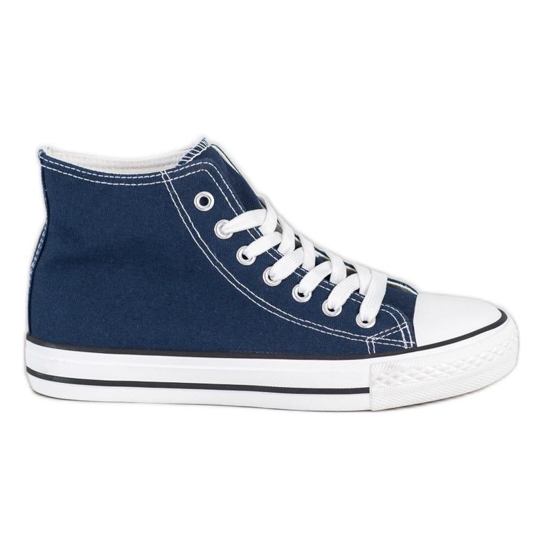 SHELOVET High Sneakers blue