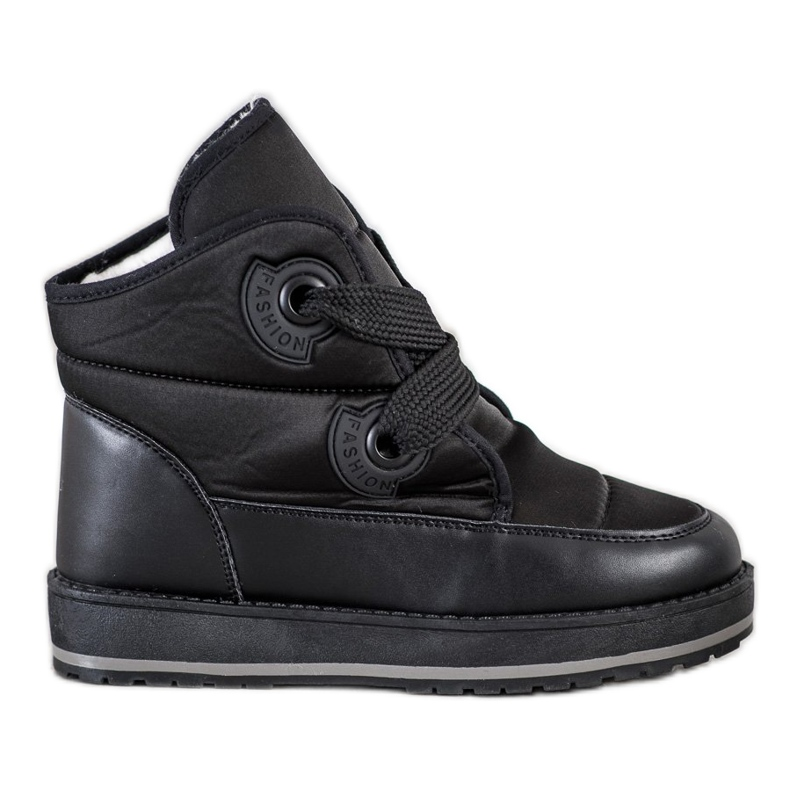 SHELOVET Fashionable Snow Boots black