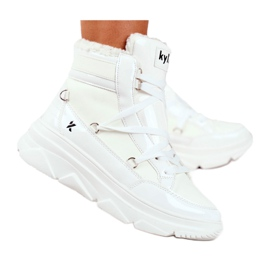 Kylie Crazy Women's Sneakers White Snow boots Missy