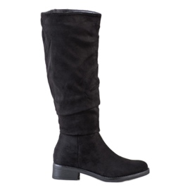 Sweet Shoes Suede boots black