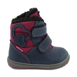 Boots boots with TE-POR Mazurek 1351 M membrane navy pink