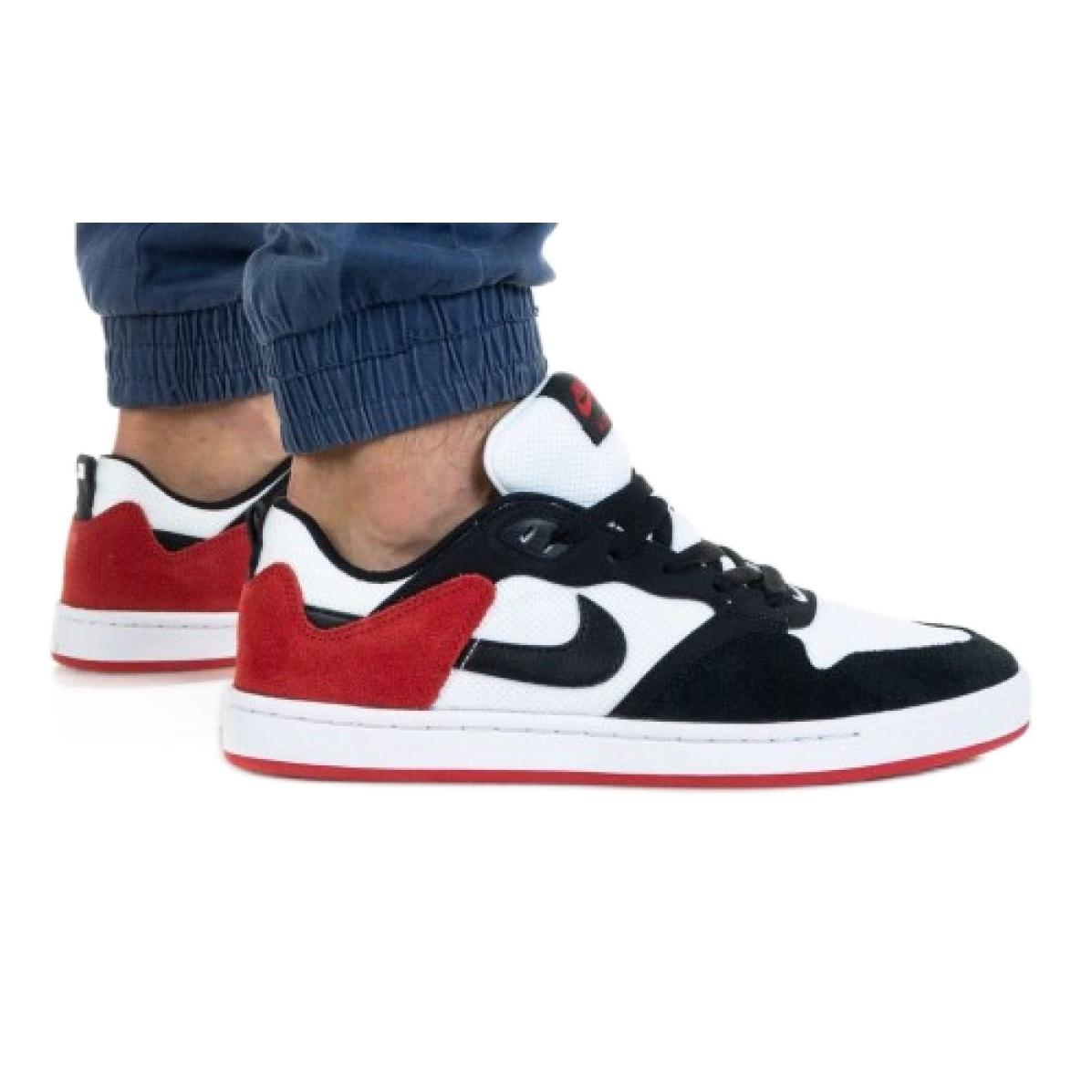 Nike Sb Alleyoop M CJ0882-102 white black red