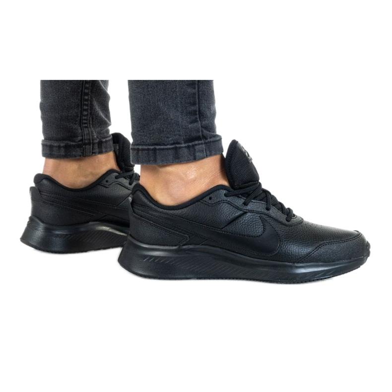 Nike Vesity Leather Gs Jr CN9146-001 shoe black red