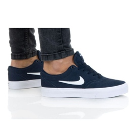 Nike Sb Charge Suede (GS) Jr CT3112-400 shoe navy blue